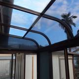 サンルームの屋根修理