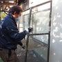 温室、ベンチの回収-BEFORE03
